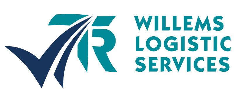De huisstijlmakelaar - Willems Logistic services Logo