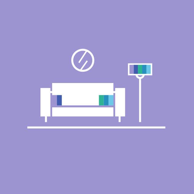De huisstijlmakelaar - Interieur & restyling logo
